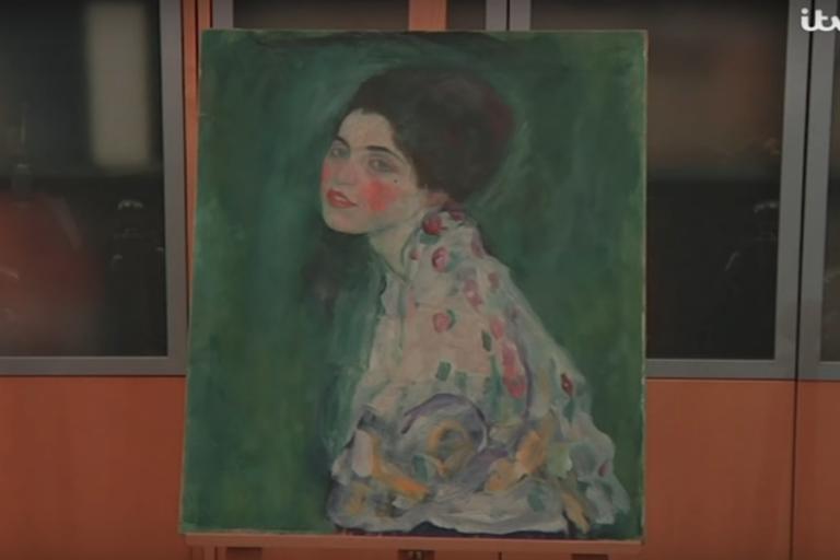 Επιβεβαιώθηκε: Αυθεντικό έργο του Κλιμτ ο πίνακας που ήταν κρυμμένος σε τρύπα