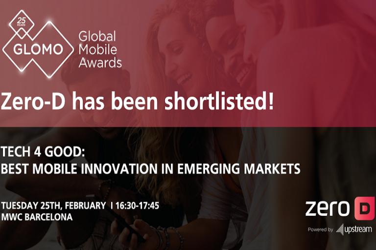 Η Upstream διεκδικεί το μεγαλύτερο βραβείο στον κλάδο των κινητών επικοινωνιών στον κόσμο