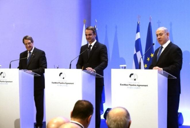 Κυρ. Μητσοτάκης: Ο EastMed έχει διάσταση οικονομική, αναπτυξιακή και γεωστρατηγική