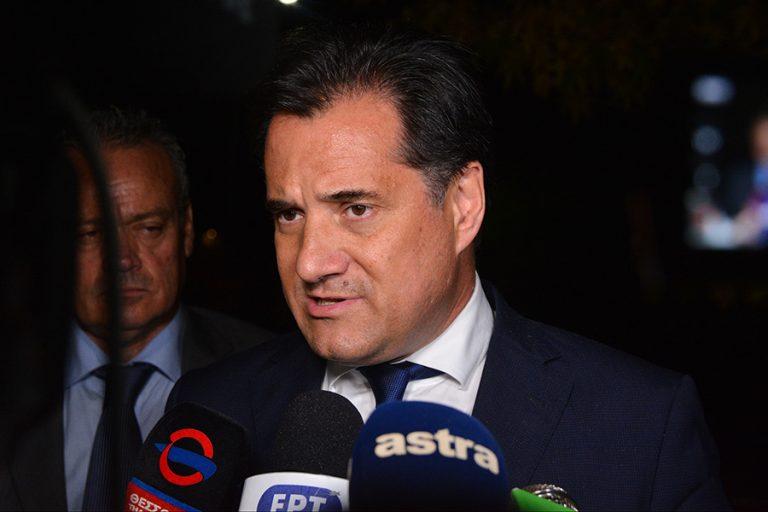 Άδ. Γεωργιάδης: Έρχεται σχέδιο για να βρουν κεφάλαιο κίνησης οι μικρομεσαίες επιχειρήσεις που πλήττονται από τον κορωνοϊό