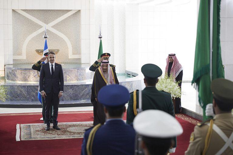 Τι συζήτησαν ο Κυριάκος Μητσοτάκης με τον βασιλιά της Σαουδικής Αραβίας