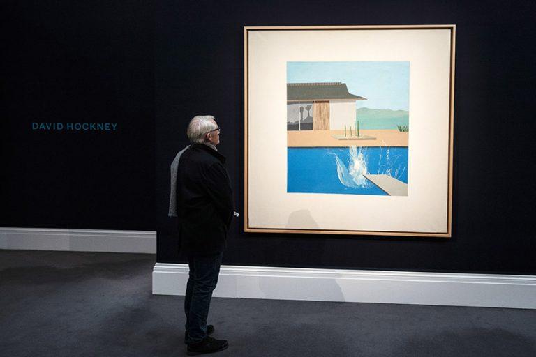 Το εμβληματικό «The Splash» του Ντέιβιντ Χόκνεϊ πουλήθηκε έναντι 30 εκατ. δολαρίων