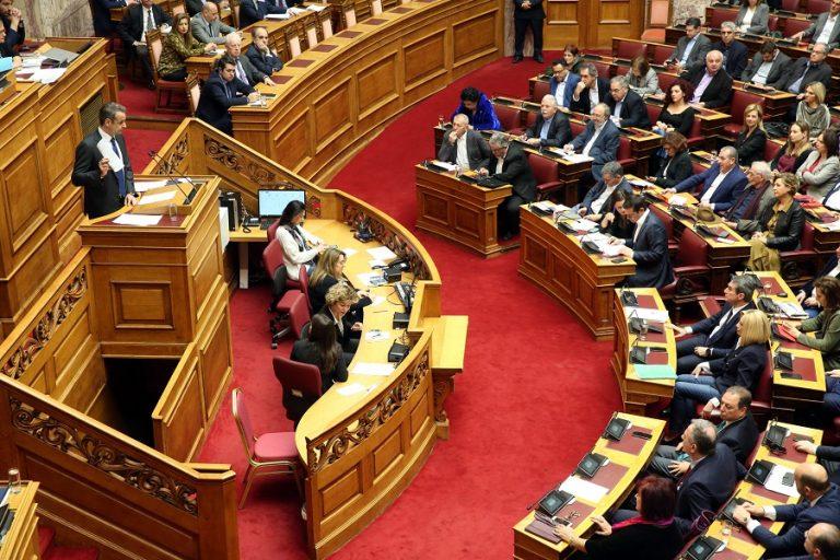 Βουλή: Κόντρα των πολιτικών αρχηγών για τα εργασιακά- κατώτατο μισθό (Live)