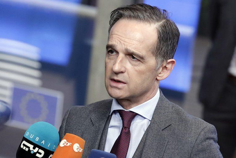 Χάικο Μάας προς Τουρκία: «Να μην κλείσει, με μονομερή μέτρα, το παράθυρο διαλόγου με την Ελλάδα»
