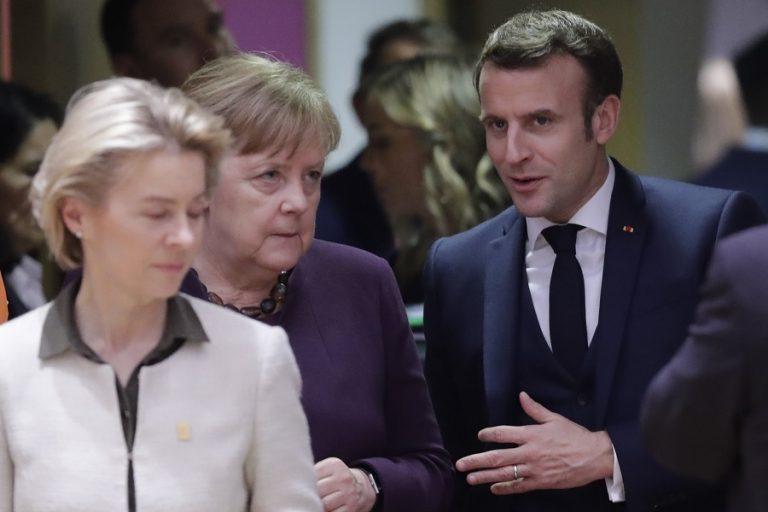 Αλληλεγγύη στην Ελλάδα από Γαλλία, Γερμανία, Αυστρία: Τι δηλώνουν Μέρκελ και Μακρόν