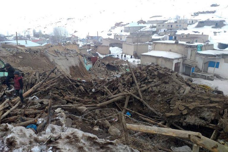 Και δεύτερος ισχυρός σεισμός 5,8 R στα σύνορα Τουρκίας- Ιράν