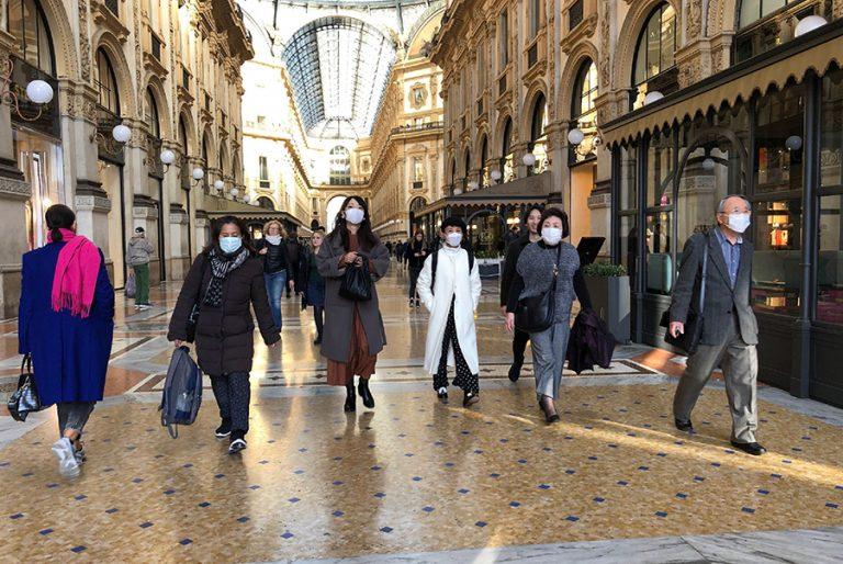 Αυξάνονται τα θύματα του κορωνοϊού στην Ιταλία – Έφτασαν τα 230 κρούσματα στην περιοχή του Μιλάνου