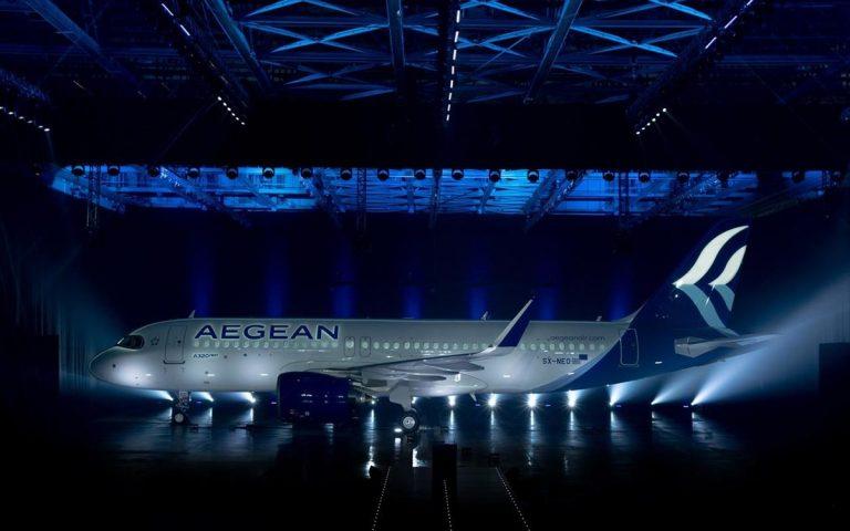 Τι neo φέρνει το αεροσκάφος που παρουσίασε η AEGEAN – Δείτε σε βίντεο πώς φτιάχτηκε το Airbus A320neo