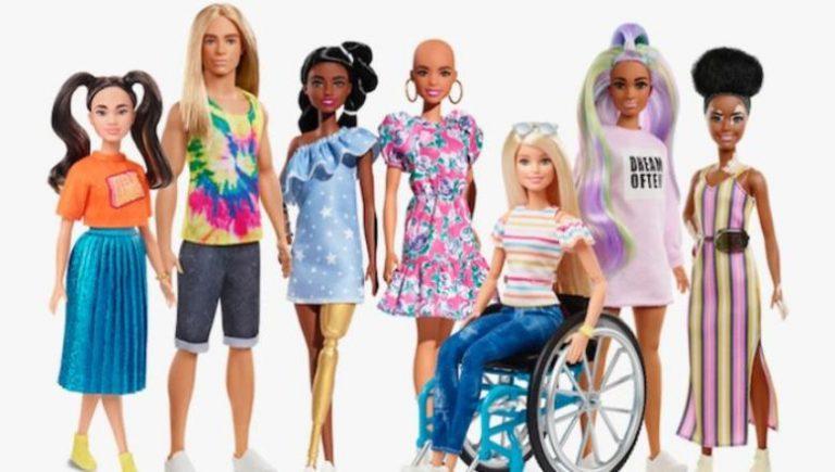 Mε έμφαση στην διαφορετικότητα οι νέες κούκλες Barbie της σειράς Barbie Fashionistas