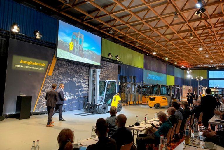 Jungheinrich: Η γερμανική υπερδύναμη παρουσίασε το ηλεκτρικό μέλλον των logistics