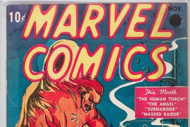 Στο «σφυρί» βγαίνει το πρώτο κόμικ Φλας Γκόρντον