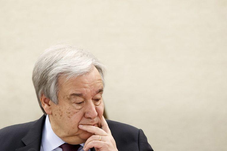 Απειλή για όλη την ανθρωπότητα χαρακτηρίζει τον κορωνοϊό ο επικεφαλής του ΟΗΕ