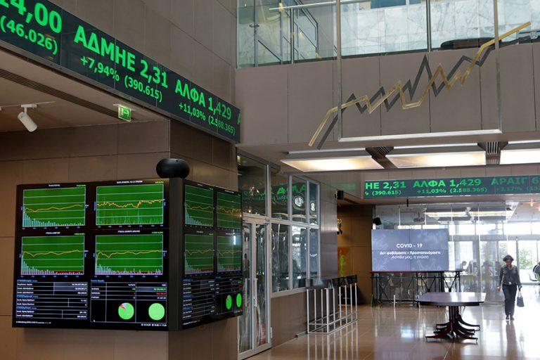 Εβδομαδιαία άνοδος του Χρηματιστηρίου ύψους 2,70% με κέρδη 4,02% για τις τράπεζες