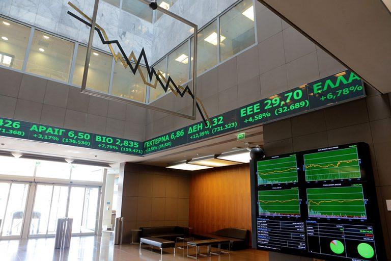 Δυναμικό comeback στο Χρηματιστήριο με ισχυρή τραπεζική άνοδο