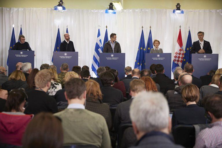 Μητσοτάκης: Οι απειλές του κ. Ερντογάν δεν πέρασαν – ΕΕ: Στήριξη με 700 εκ. ευρώ στην Ελλάδα