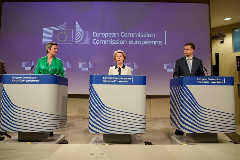 Κομισιόν: Πακέτο 37 δισ. ευρώ για την θωράκιση των οικονομιών της EE εν μέσω έξαρσης του κορωνοϊού (Βίντεο)