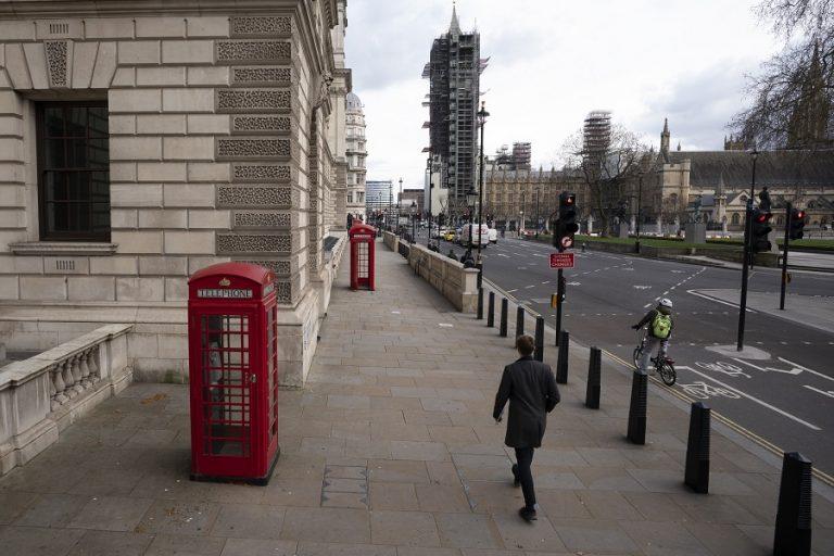 Ύφεση-ρεκόρ 20,4% στη Βρετανία το δεύτερο τρίμηνο του 2020 λόγω της πανδημίας