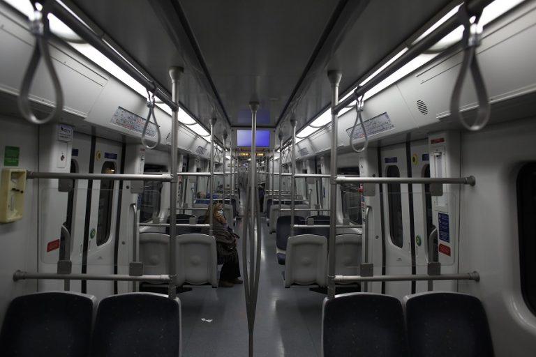 Κλειστοί από τις 12 το μεσημέρι της Τρίτης πέντε σταθμοί του μετρό