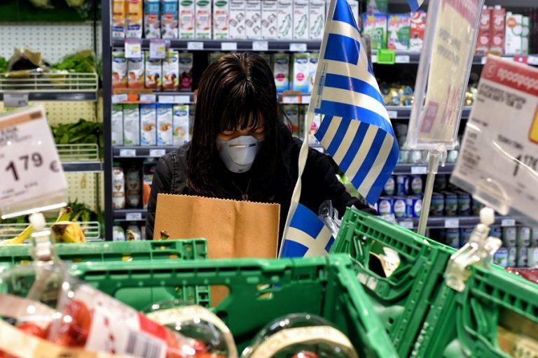 Σούπερ μάρκετ με υποχρεωτική μάσκα για όλους