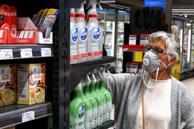 Συνεχίζεται η αύξηση του τζίρου στα σουπερ μάρκετ 13 εβδομάδες μετά την εμφάνιση κορωνοϊού στην Ελλάδα