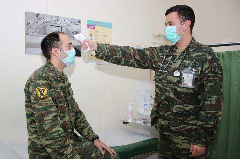 Ο ελληνικός στρατός μπαίνει στη «μάχη» του κορωνοϊού