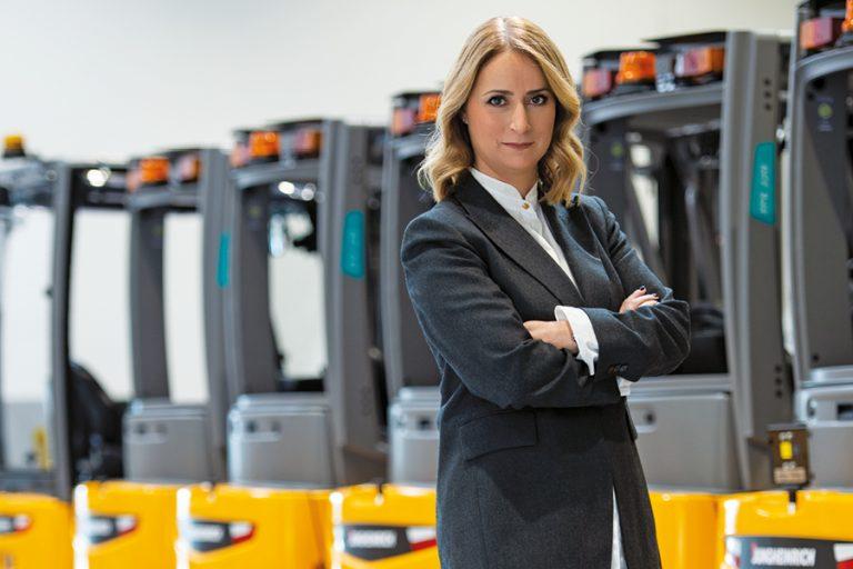 Έλενα Καλλονά: ΣτηJungheinrich πετύχαμε στην πράξη το diversity στην τεχνολογία