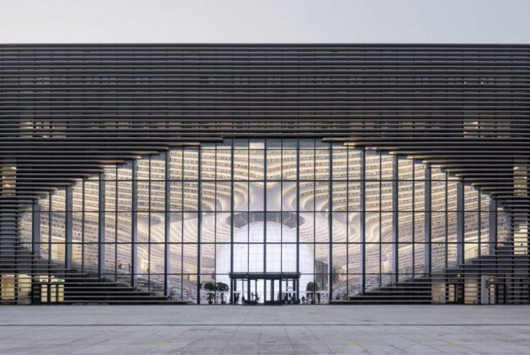Η βιβλιοθήκη Tianjin Binhai στην Κίνα που κόβει την ανάσα (Φωτογραφίες)