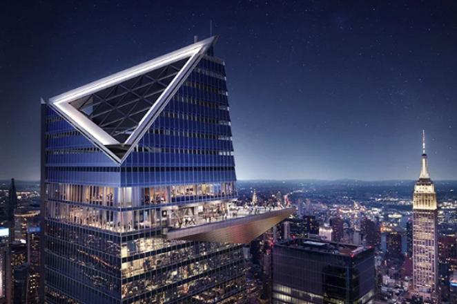 «Edge»: Το πιο ψηλό μπαλκόνι με θέα στο δυτικό ημισφαίριο