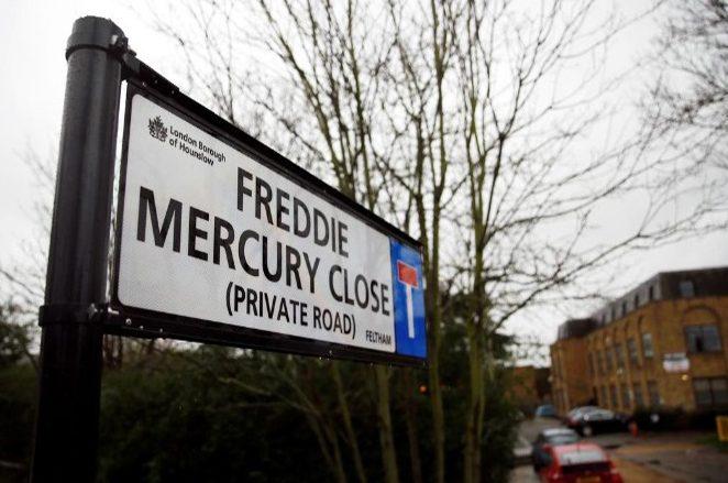 Ο Φρέντι Μέρκιουρι απέκτησε τον δικό του δρόμο στο Λονδίνο