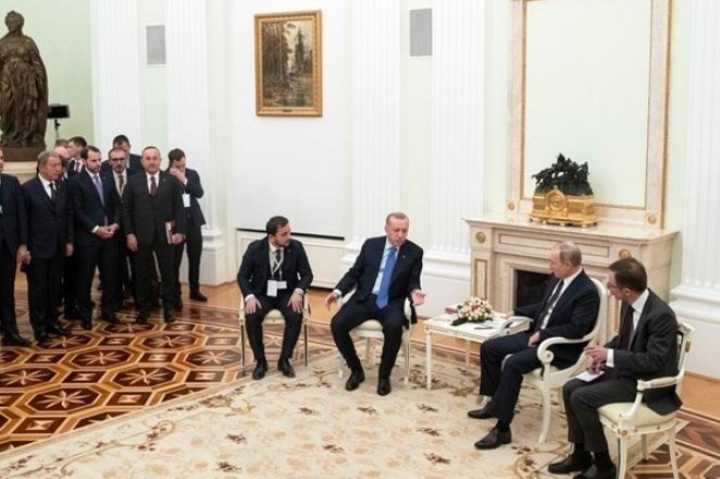 Συμφωνία Πούτιν και Ερντογάν για εκεχειρία από σήμερα τα μεσάνυχτα στο Ιντλίμπ