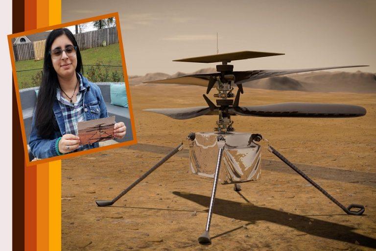 Η NASA θα στείλει στον Άρη το πρώτο ρομποτικό ελικόπτερο και μια μαθήτρια του έδωσε ένα απίστευτο όνομα
