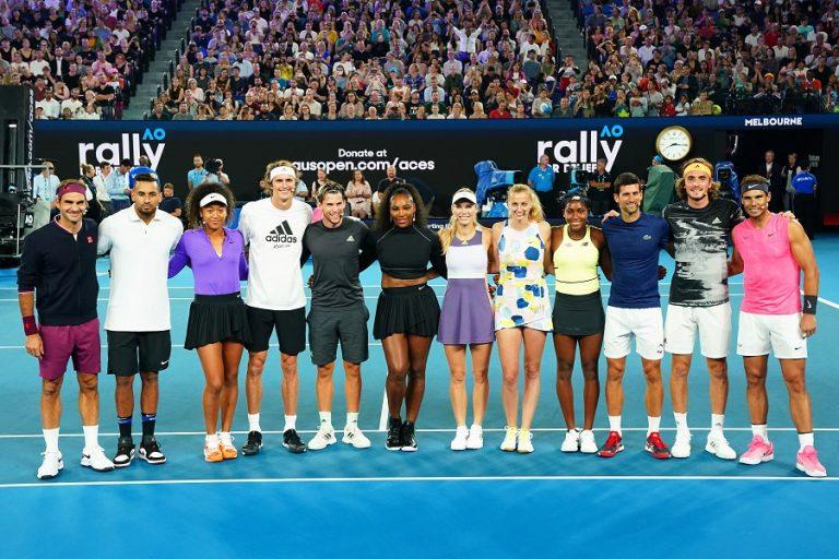 Οι «Big 3» του τένις προσπαθούν να σώσουν το άθλημα στην περίοδο του κορωνοϊού