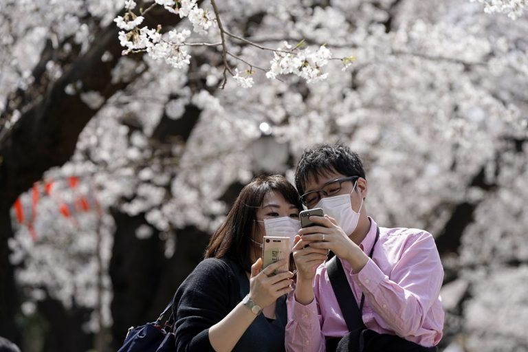 Μόνο μέσω διαδικτύου φέτος οι «ανθισμένες κερασιές» στην Ιαπωνία