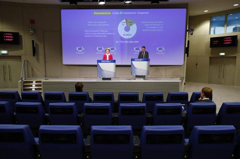 «Προϋπολογισμό κορωνοϊού» ζητούν από κοινού για την ΕΕ οι πρόεδροι Κομισιόν και Ευρωπαϊκού Συμβουλίου