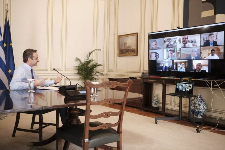 Τηλεδιάσκεψη Μητσοτάκη και «Landis+Gyr»: Επένδυση με δημιουργία 170 νέων θέσεων εργασίας