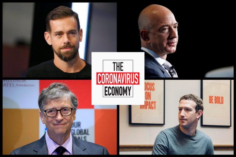 Οι κροίσοι της τεχνολογίας που προχώρησαν σε δωρεές εκατ. δολαρίων εναντίον του Covid -19