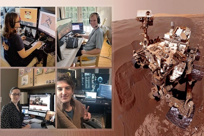 Η NASA για πρώτη φορά στη διαστημική ιστορία «οδηγεί» ένα ρόβερ στον Άρη από το… σπίτι