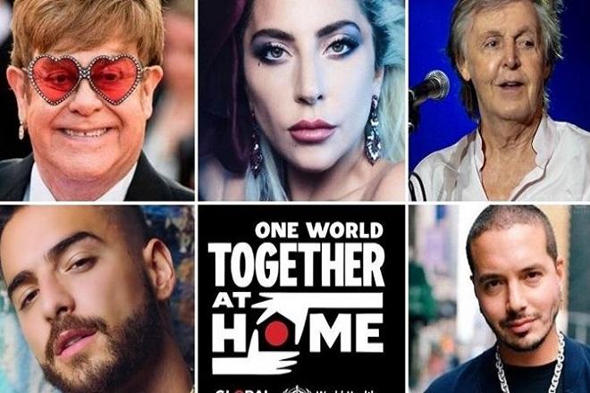 Η συναυλία «One World: Together At Home» κατάφερε να μαζέψει 127,9 εκατ. δολάρια για τον κορωνοϊό