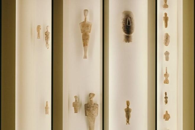 Οnline περιήγηση στην έκθεση «Κυκλαδική Κοινωνία. 5000 χρόνια πριν»