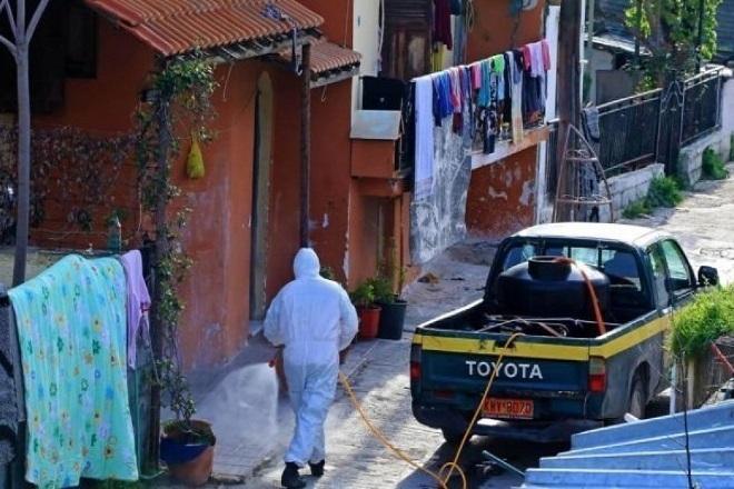 Συναγερμός στη Λάρισα: Γιγαντιαία επιχείρηση για τον κορωνοϊό στον οικισμό Ρομά