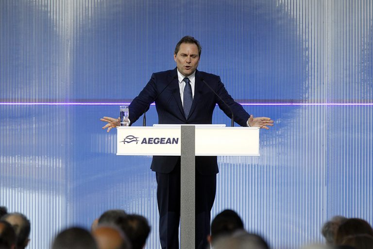 Ευτύχης Βασιλάκης: H προσπάθεια θα είναι δύσκολη, να είμαστε ρεαλιστές – Η AEGEAN συνεχίζει να παραλαμβάνει αεροπλάνα παρά την κρίση