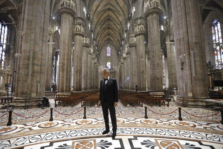Ο Αντρέα Μποτσέλι περιγράφει την εφιαλτική εμπειρία του με τον κορωνοϊό