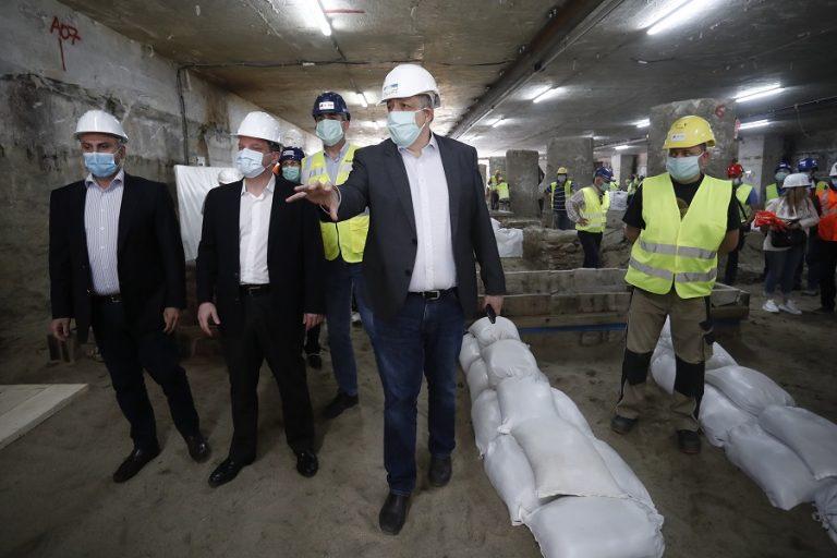 Μετρό Θεσσαλονίκης: Τα «αποκαλυπτήρια» της τελικής μορφής του Σταθμού Βενιζέλου