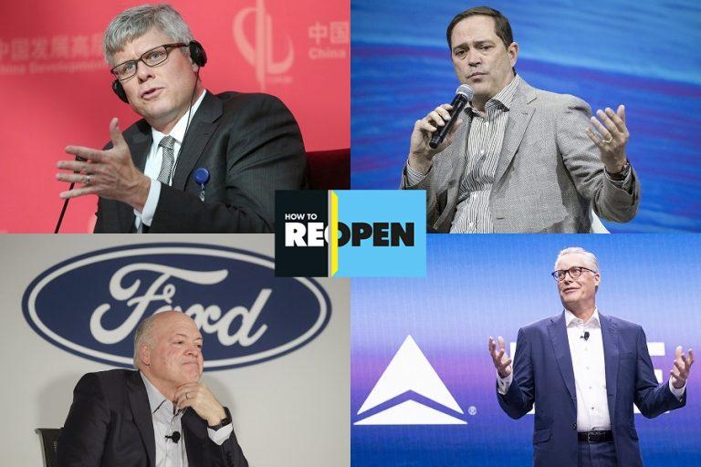 Ηow to Reopen: Δέκα κορυφαίοι CEOs δίνουν συμβουλές για την επόμενη μέρα του κορωνοϊού