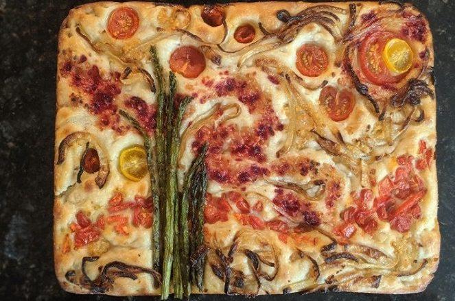 Garden Focaccia : Η viral τάση με έργα ζωγραφικής σε… ψωμί