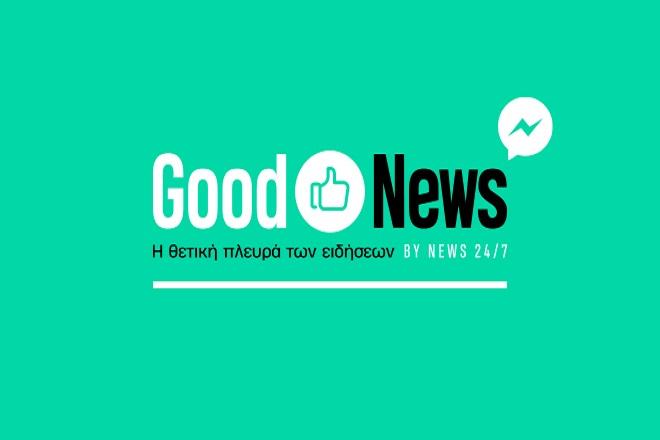 Good News: Τα καλά νέα της ημέρας στο Facebook bot του NEWS 24/7