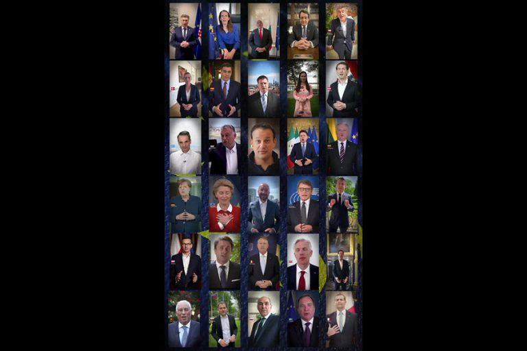 Σπάνια κίνηση από τους Ευρωπαίους ηγέτες για την Ημέρα της Ευρώπης