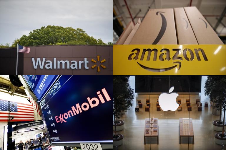 Οι μεγαλύτερες εταιρείες των ΗΠΑ με έσοδα άνω των 14,2 τρισ. δολαρίων