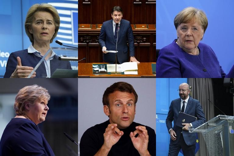 Έξι ηγέτες της Ευρώπης συνυπογράφουν άρθρο-έκκληση για την αντιμετώπιση της πανδημίας