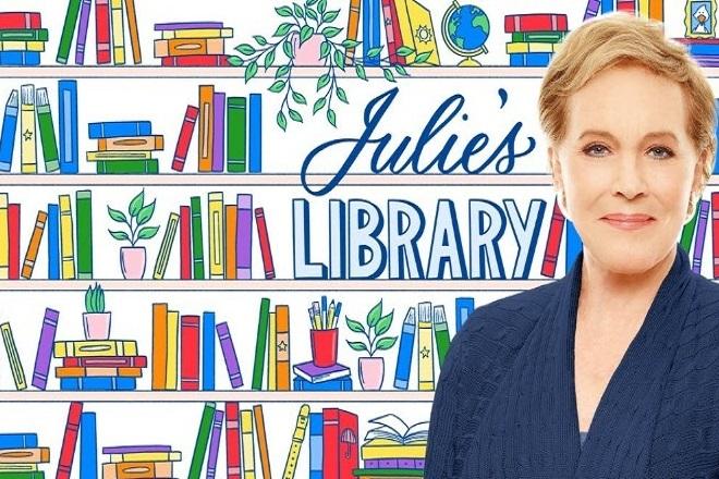 Η Τζούλι Άντριους διαβάζει βιβλία σε παιδιά στο podcast «Julie's Library»